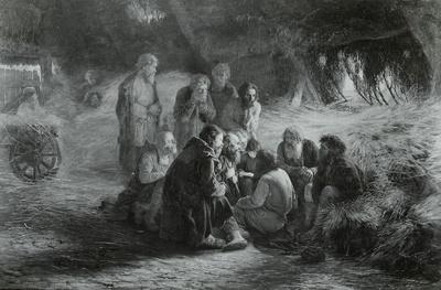 Beim Lesen des Manifests vom 19. Februar 1861