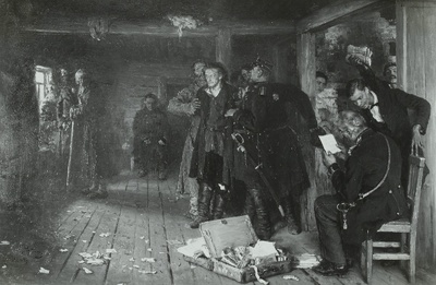 Verhaftung des Propagandisten