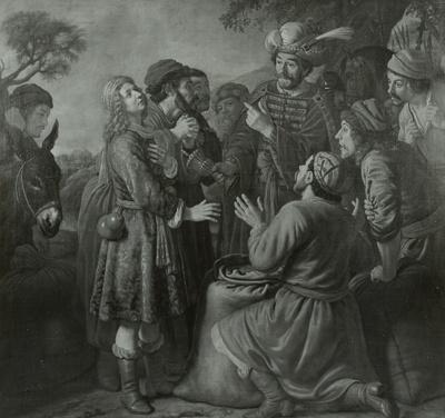 Die Findung des Bechers in Benjamins Sack