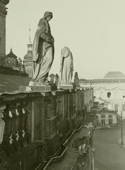 Heiliger Thomas von Aquin und Heilige Anna