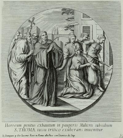 1. Wunder des Heiligen Thomas