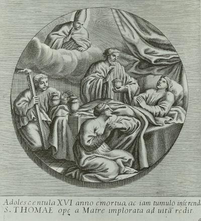 4. Wunder des Heiligen Thomas