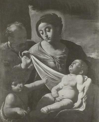 Heilige Familie mit dem kleinen Johannes