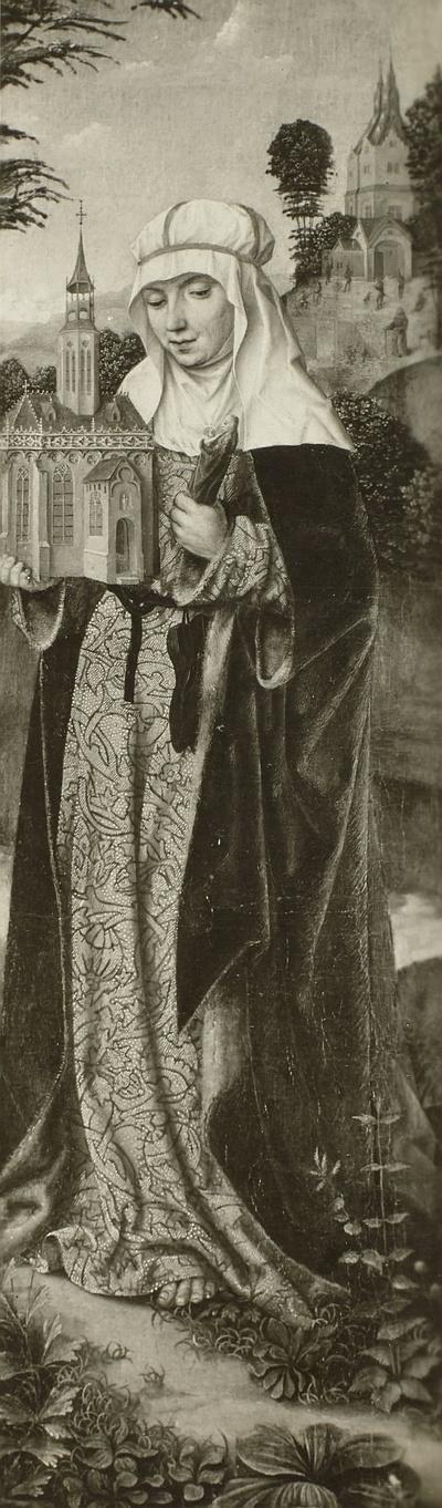 Altarflügel mit der heiligen Elisabeth