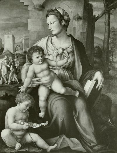 Maria mit dem Kinde und Johannes
