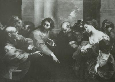 Die Ehebrecherin vor Christus