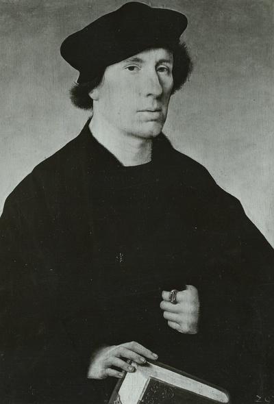 Bildnis eines bartlosen Mannes