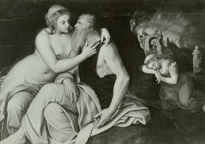 Loth und seine Töchter