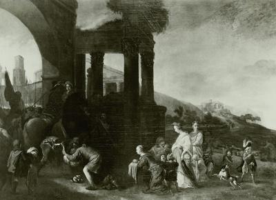 Die Begegnung Jakobs und Esaus