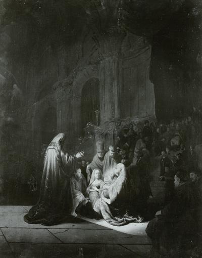 Die Darstellung Christi im Tempel