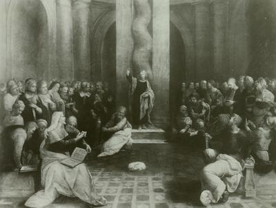 Christus lehrt im Tempel