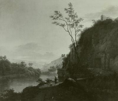 Weg am Flusse