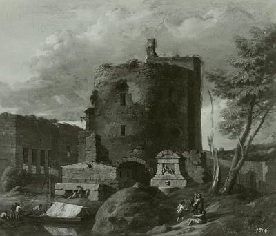 Ruinen am Fluß