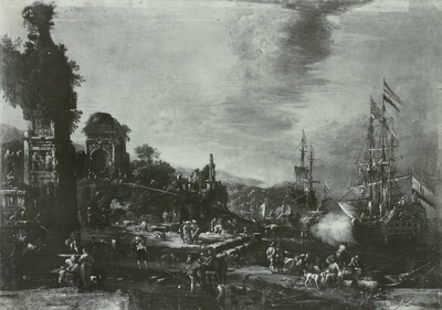 Image from object titled Ein Seehafen