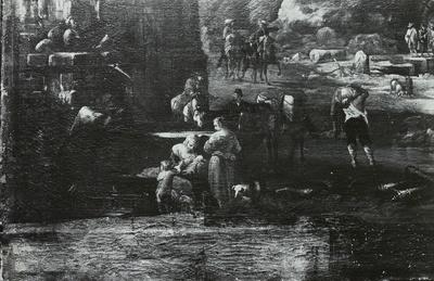 Ein Seehafen