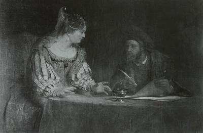 Esther und Mardochai