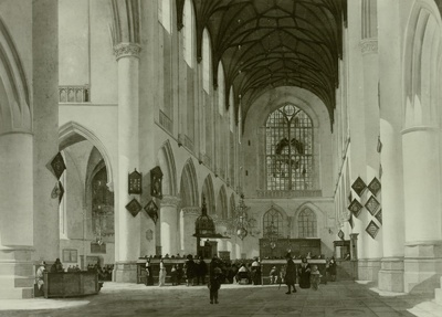 Image from object titled Innenansicht der St. Bavokerk zu Haarlem