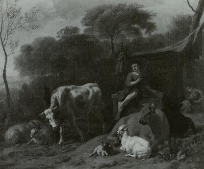 Eine Hirtenfamilie