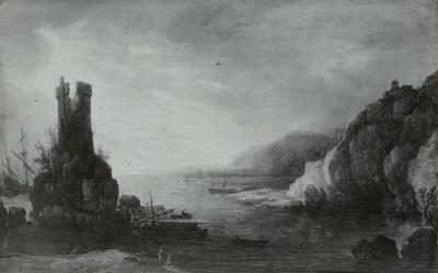 Seebucht mit Booten