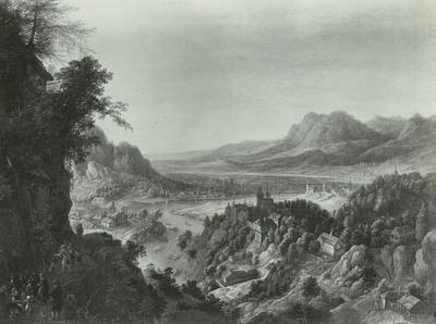 Wassermühle im Gebirge