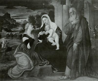 Die Verlobung der heiligen Katharina