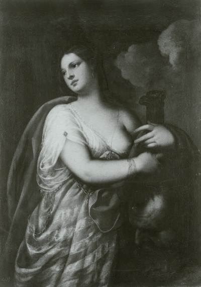 Judith mit dem Haupte des Holofernes