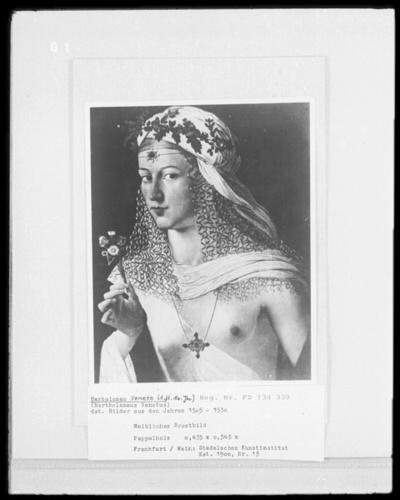 Weibliches Brustbild (Lucrezia Borgia?)