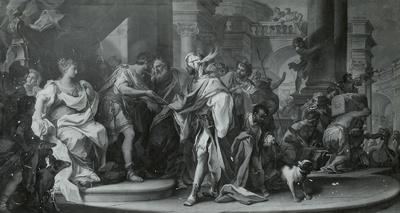 Die hl. drei Könige vor Herodes