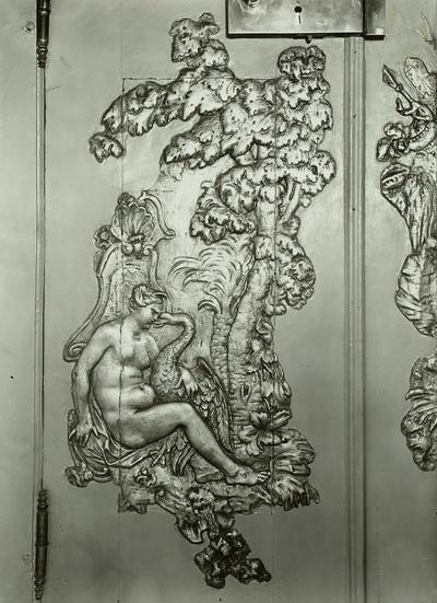Szene aus den Metamorphosen des Ovid: Leda und der Schwan