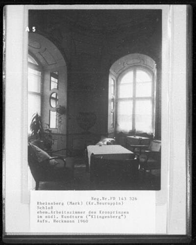 Ehemaliges Arbeitszimmer des Kronprinzen, Turmkabinett