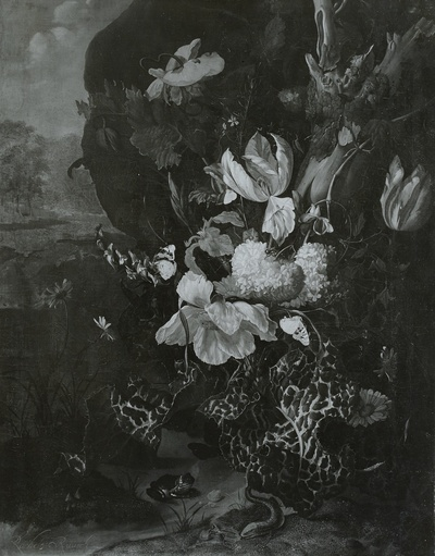 Image from object titled Blumen und Tiere