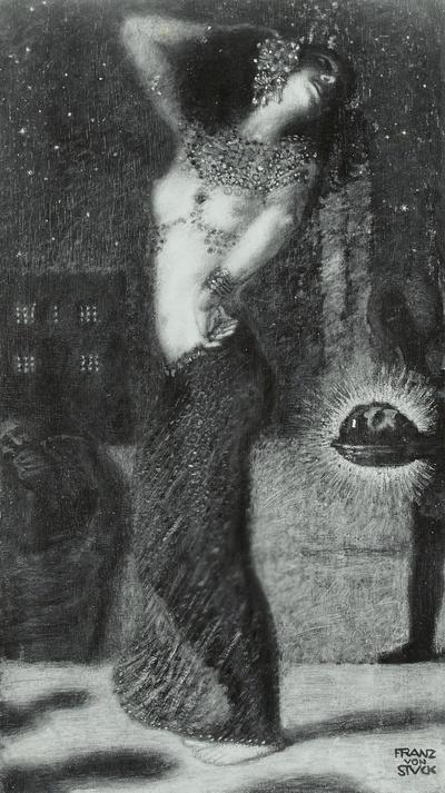 Tanzende Salome