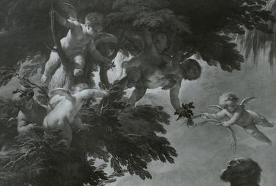 Image from object titled Die Ruhe auf der Flucht nach Ägypten
