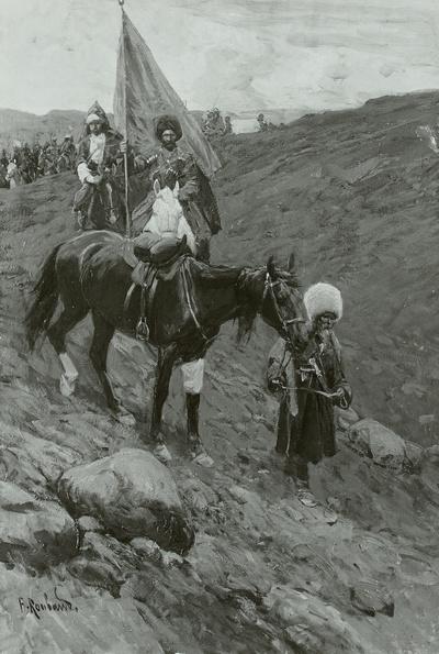 Die Tataren nach der Schlacht