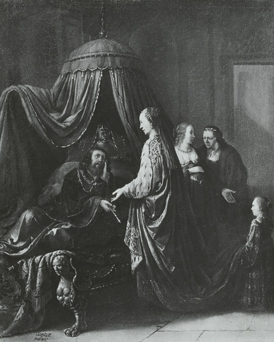Esther vor Ahasver