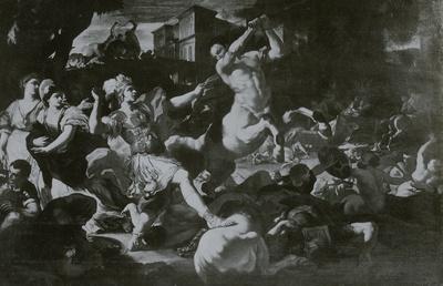 Der Kampf der Centauren mit den Lapithen