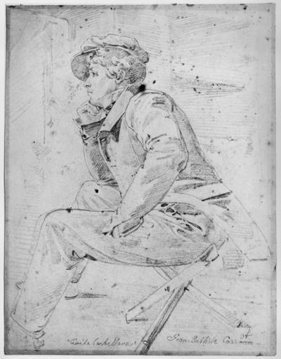 Bildnis des Malers Jean-Baptiste Camille Corot