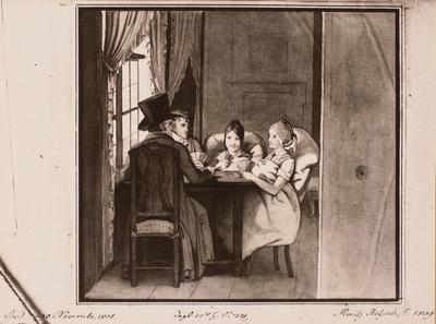 Beim Kartenspiel