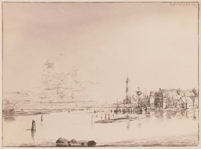Alte Stadt am Meer