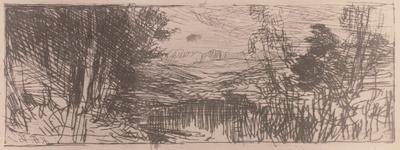 Landschaftsskizze