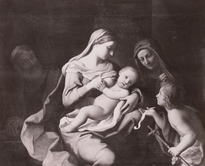 Die Heilige Familie mit der heiligen Anna und dem Johannesknaben