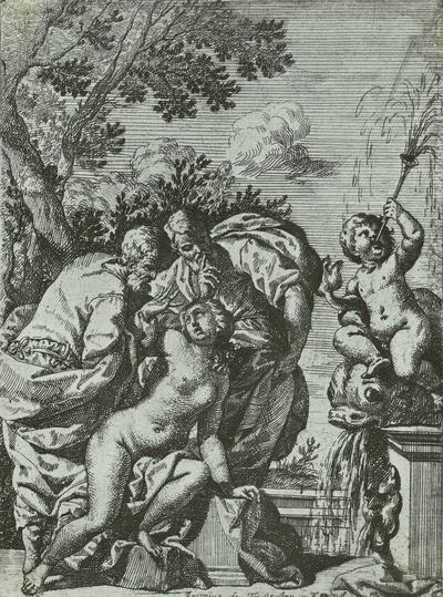 Susanne im Bade