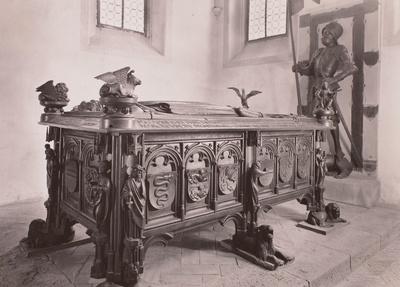 Grabmal des Grafen Hermann VIII. von Henneberg (gest. 1535) und der Elisabeth von Brandenburg (gest. 1507)