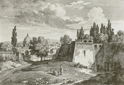 """""""Vue d#une partie de Rome, prise du Mont Vatikan"""" Nr. 72"""