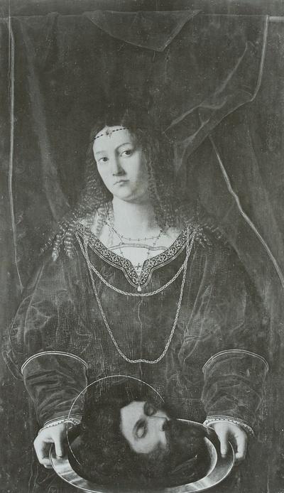 Salome mit dem Haupte Johannes des Täufers
