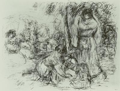 Image from object titled Die Wäscherinnen I