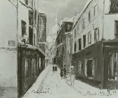 Montmartre mit Sacré Coeur