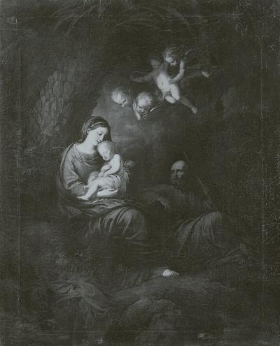 Die heilige Familie unter dem Palmenbaume