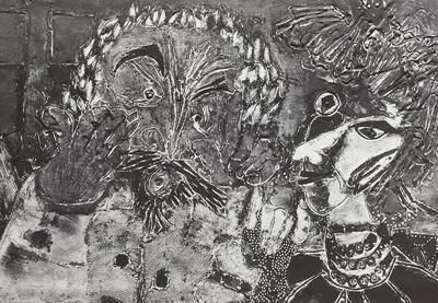 Illustration zu Giraudoux: Die Irre von Chaillot