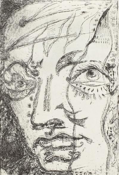 Illustration zu Charles Baudelaire: Die Blumen des Bösen